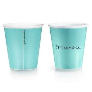 Tiffany Bone China Paper Cup (1 pc) Tiffany 紙杯造型骨瓷杯 (1隻) (最後1隻)
