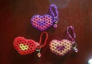Heart Beads Wallet