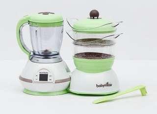 法國babymoov 二手 嬰兒副食品 食物料理機 多功能