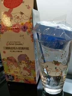 🚚 三麗鷗盆栽 玻璃杯組