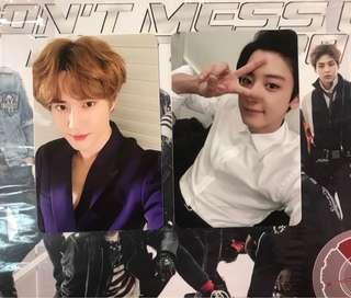 WTT EXO Vivace Photocards