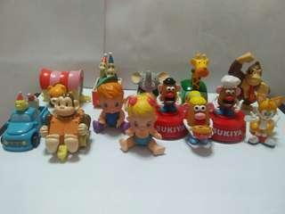 Cute figurines(13 for $12)
