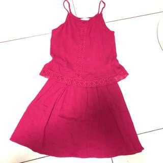 Mango girls Red Dress
