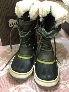 Sorel 加拿大專業雪靴 size:6 免運