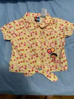 Dora Top (size 5, suitable for 4-6 years old)