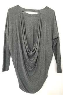 Wilfred Long Sleeve Open Back