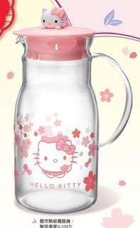 7-11 Hello Kitty 立體公仔耐熱玻璃水瓶