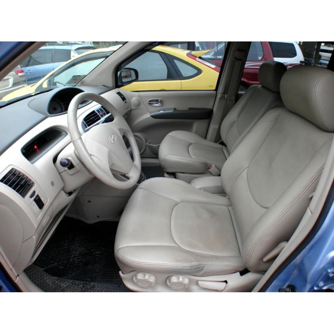 2007年Hyundai matrix 1.6 藍『阿賢精選車坊』賞車專線:0908169110
