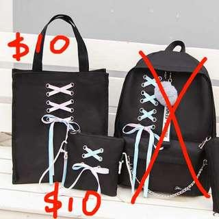 🆕 $20 two bag 全新現貨 sling bag handbag tote bag shopping bags 斜孭袋 側孭袋 $20兩個 不散賣
