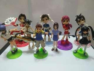 Cute figurines(9 for $22)