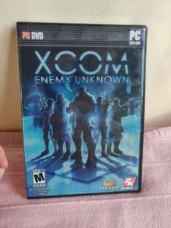 XCOM Enemy Unknown PC dvd