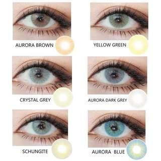 Aurora Brown Contact Lense