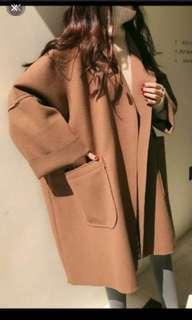 🚚 焦糖色大衣