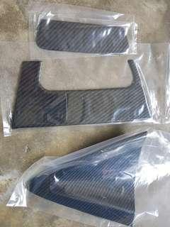 Honda Vezel Rear Door Handle (Carbon Fibre)