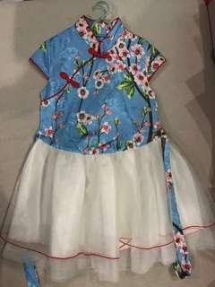 Chinese Traditional Cheongsam Costume
