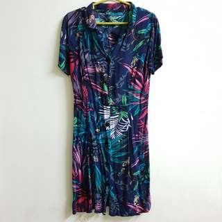 Custom made summer buttondown dress