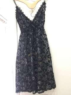 Lace outer dress