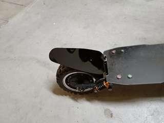 🚚 Custom Made E Scooter Acrylic Mudguard