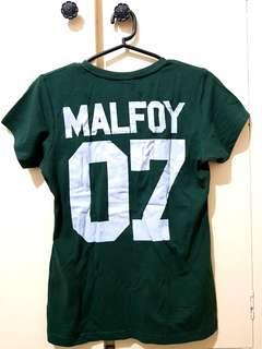 Slytherin Malfoy statement T-Shirt (S to M)