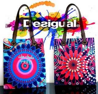 Desigual Canvas Bag