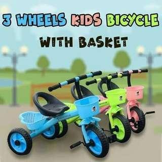 3 Wheel Kids Bicycle