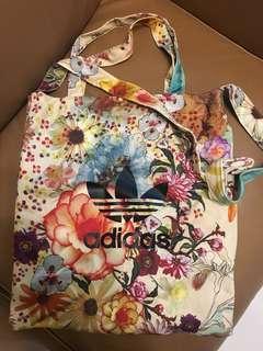 Adidas Flora print Totebag