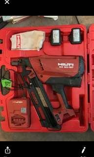 HILTI GX 90-WF wood nail gun