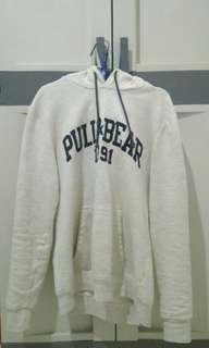 Pull & Bear Hoodie - White