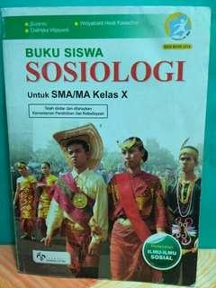 Buku Sosiologi Kelas X SMA/MA