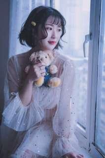 韓國套裝紗裙🙈(毛衣+連衣裙)♥️