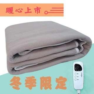 定時定溫雙人進口毛毯一件1750(運費150)