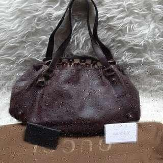 Authentic Guccisima Marron Abey Leather..💌💟💞