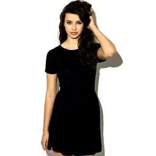Dorothy Perkins Black Skater Dress (L) 🇬🇧