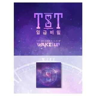 [Pre-order] TST 일급비밀  (3RD SINGLE ALBUM 싱글앨범) - WAKE UP