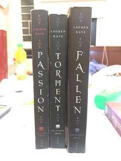 FALLEN TORMENT PASSION 1-3 LAUREN KATE