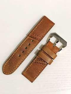Panerai Leather Strap - Light Brown