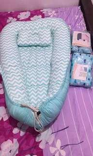 Baby cuddle co sleeper set
