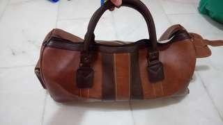 Authentic Leather Duffel Bag