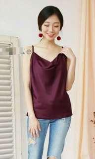 RED TANK MAROON