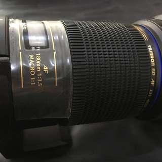 Tamron SP AF 180mm F3.5 Macro Lens (Sony A Mount)