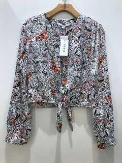 Authentic Guess Floral Longsleeve