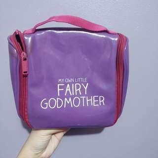 Purple bag toiletry