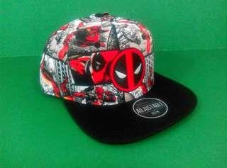 Bioworld Dead Pool snapback cap 死侍帽 suitable for age 14 or above