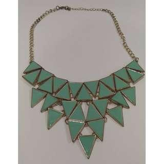 Tiered Geometric Necklace #APR10