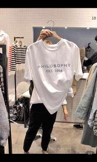 🚚 Philosophy Basic T-shirt