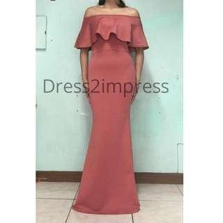 mermaid long dress evening gown off shoulder red white black blue green nude plus size large freesize