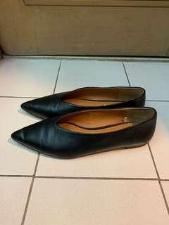 H&M Leather Pointy Flats