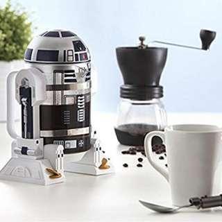 Star wars r2d2 droid coffee maker coffee press valentine gift 960ml