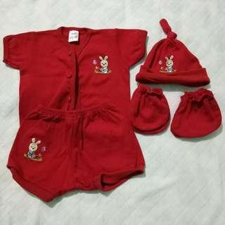 Baby Red Set