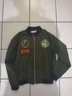 patch army bomber jacket